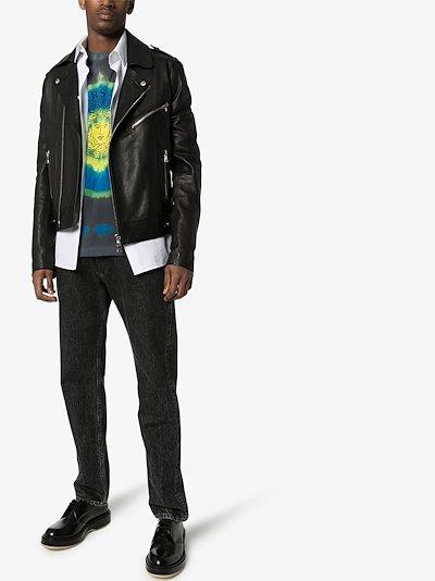 medusa tie-dye print T-shirt