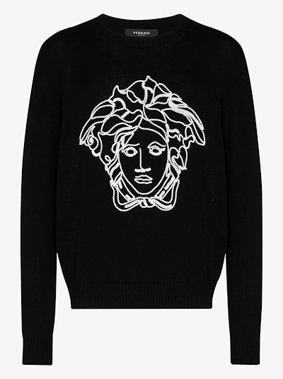 Medusa wool sweater