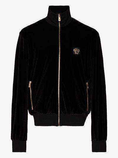 Medusa zip-up sweatshirt