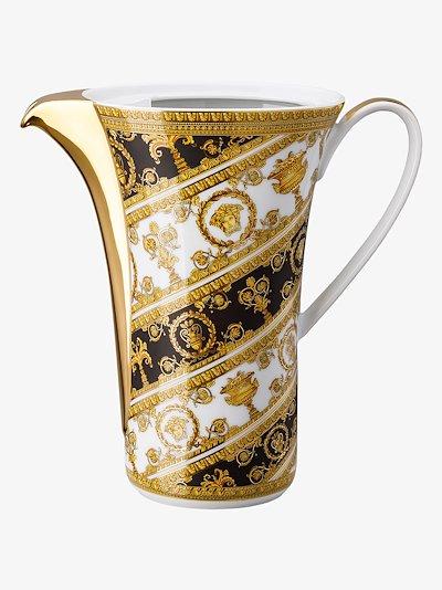 multicoloured Baroque Rhapsody porcelain coffee pot
