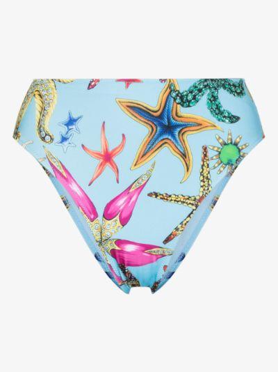 Trésor de la Mer printed bikini bottoms