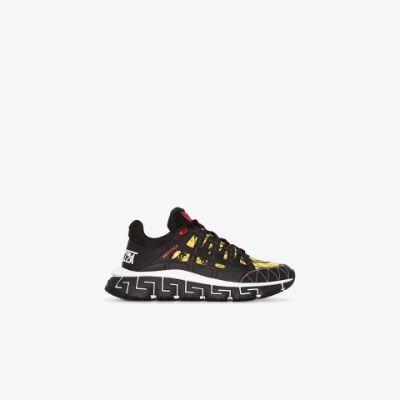 Trigreca baroque-print sneakers