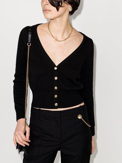 V-neck cashmere cardigan