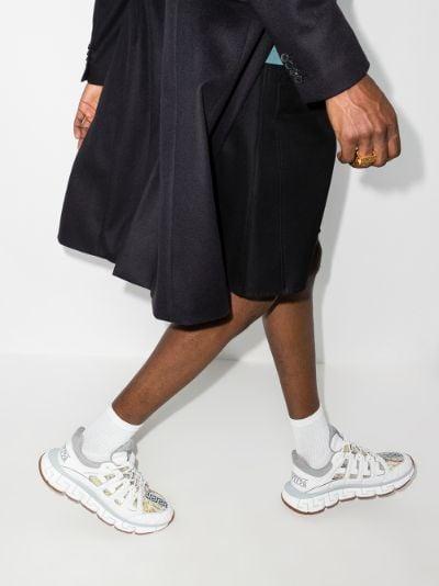 White Trigreca Low Top Sneakers