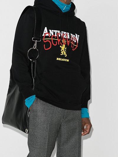 Antwerp Screwed print hoodie