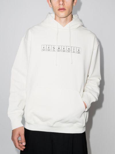 Chemical logo print hoodie