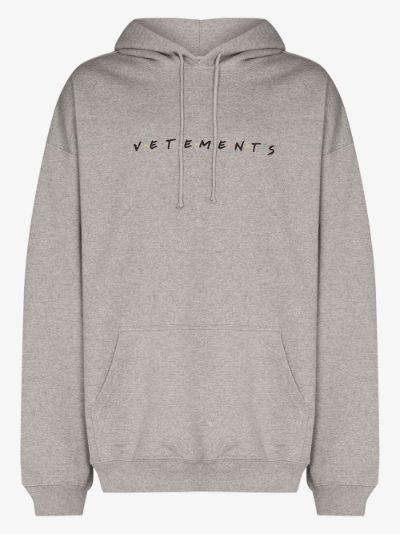 Friendly logo hoodie