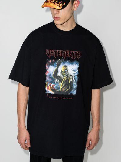 Heavy Metal print T-shirt