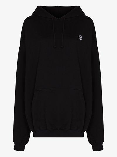 logo tape hoodie