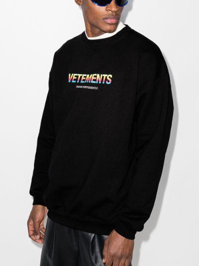 Think Different logo sweatshirt