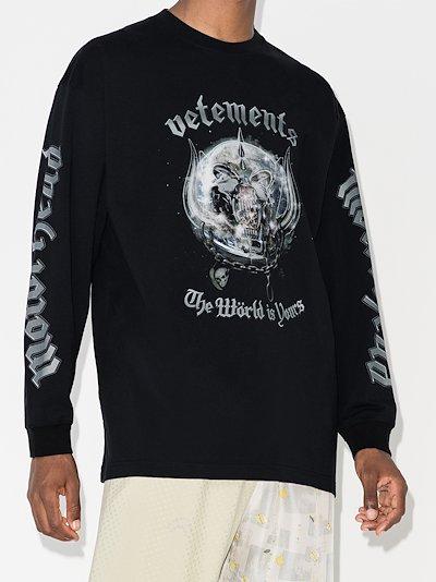 X Motörhead crew neck sweatshirt