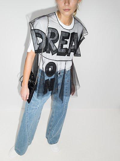 dream on sheer blouse