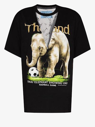 Vintage Elephant print T-shirt