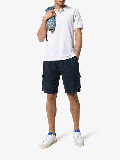 baie linen cargo shorts