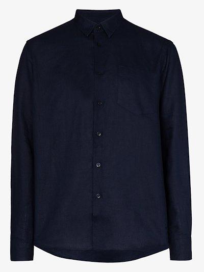 Caroubis linen shirt