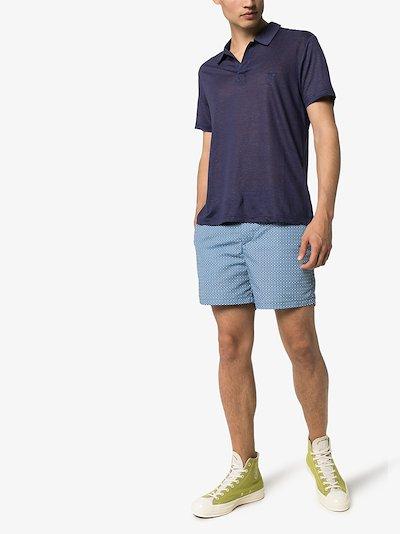 Pyramid short sleeve polo shirt