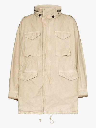 Bickle cotton parka jacket