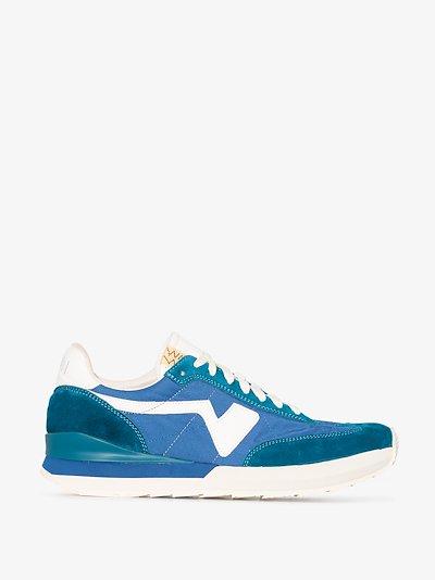 blue FKT runner sneakers