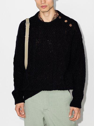 Bollard wool sweater