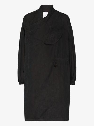 Chamdo fishtail parka coat