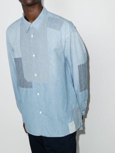 Chore patchwork chambray shirt