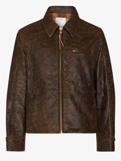 Garrison leather jacket