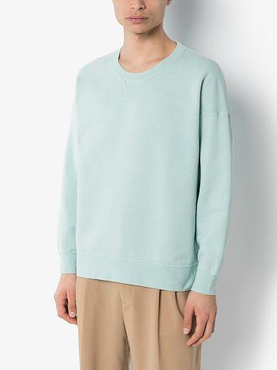 jumbo cotton sweatshirt