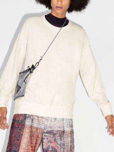 jumbo crew neck sweatshirt