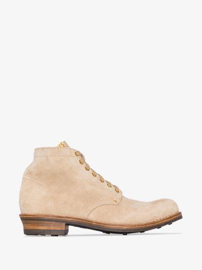 Neutral Brigadier suede boots