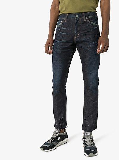 Social Sculpture 14 non-wash jeans