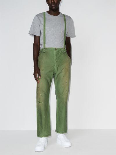 Travailler braces trousers