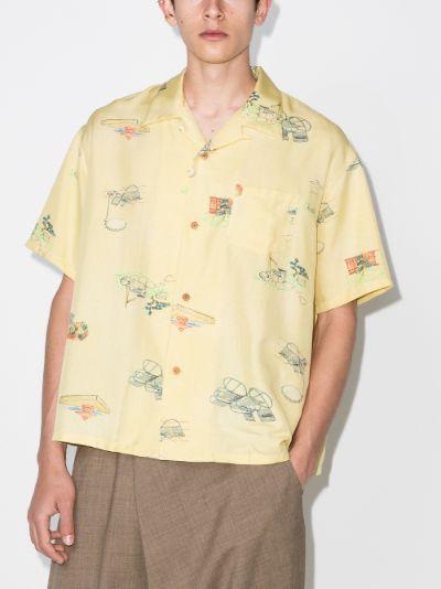 Wallis Garden silk shirt