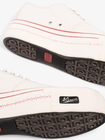 White Skagway G. Lo Patten sneakers
