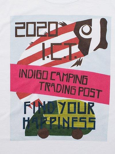 X F.I.L. Indigo Camping Trading Post Jumbo T-shirt