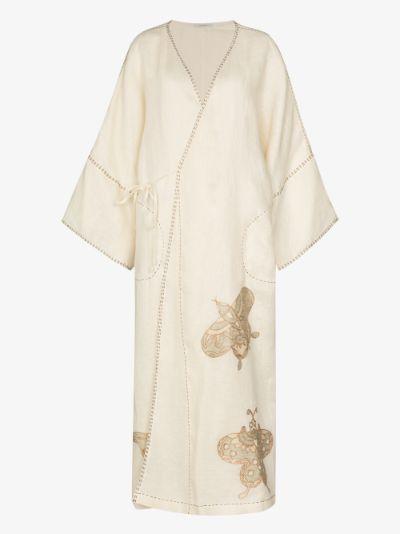 Tokyo embroidered kimono dress