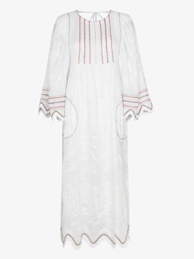 Virginie Open Back Midi Dress