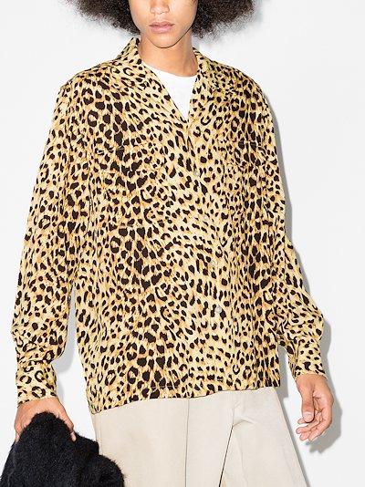 X Carhartt WIP leopard print shirt