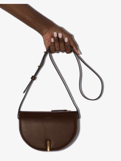 brown Nana leather cross body bag