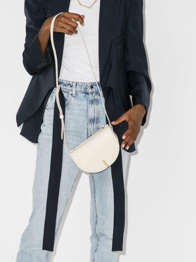 cream Nana leather cross body bag