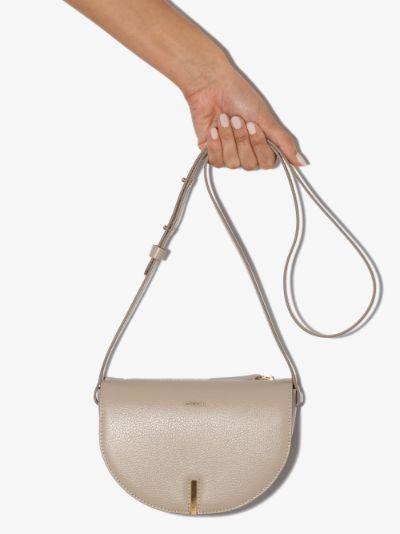 neutral Nana leather cross body bag