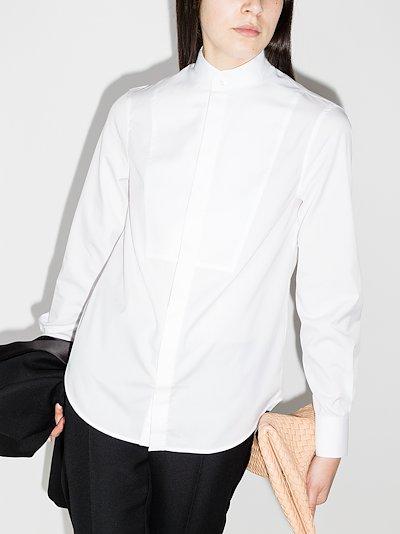 Tuxedo cotton shirt