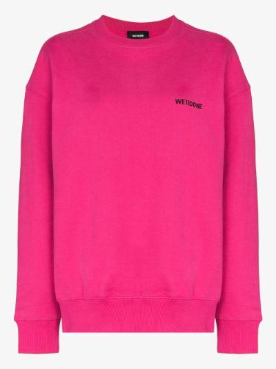 longsleeved logo sweatshirt