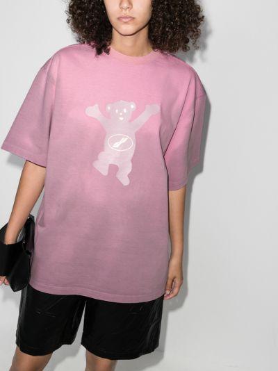 Teddy print T-shirt