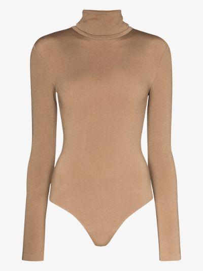 Colorado turtleneck string bodysuit