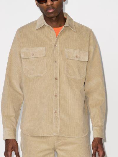 Andrew corduroy cotton shirt