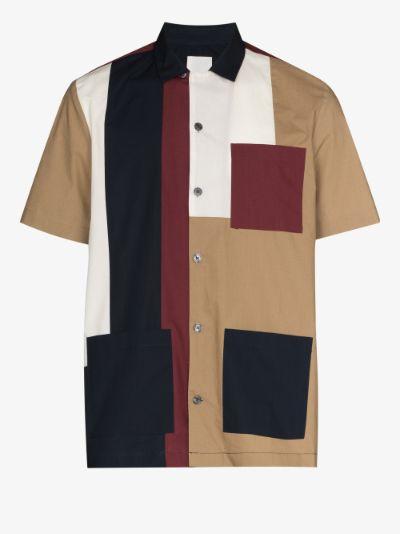 Brandon colour block shirt