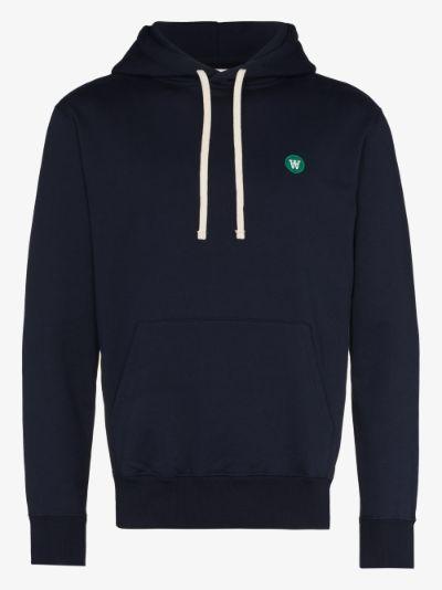Ian Double A cotton hoodie