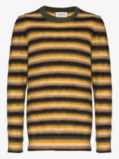 John striped sweater