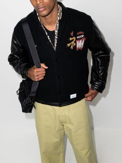 Canal Mosser wool bomber jacket