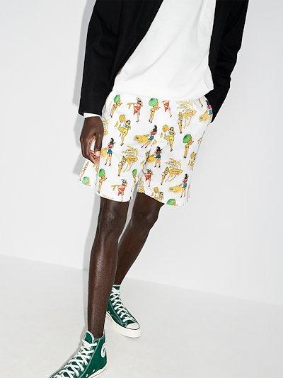 Duty 02 printed shorts